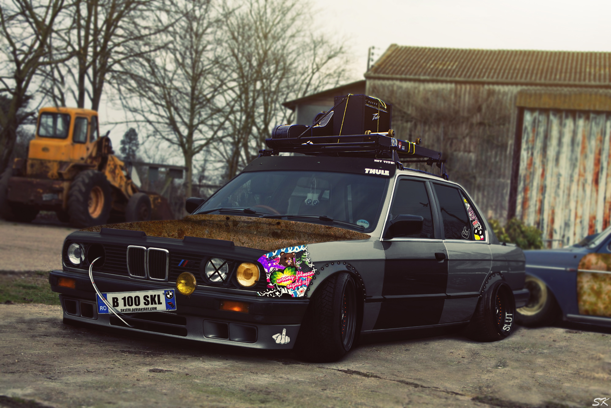 BMW E30 Rat Style by Sk1zzo on DeviantArt