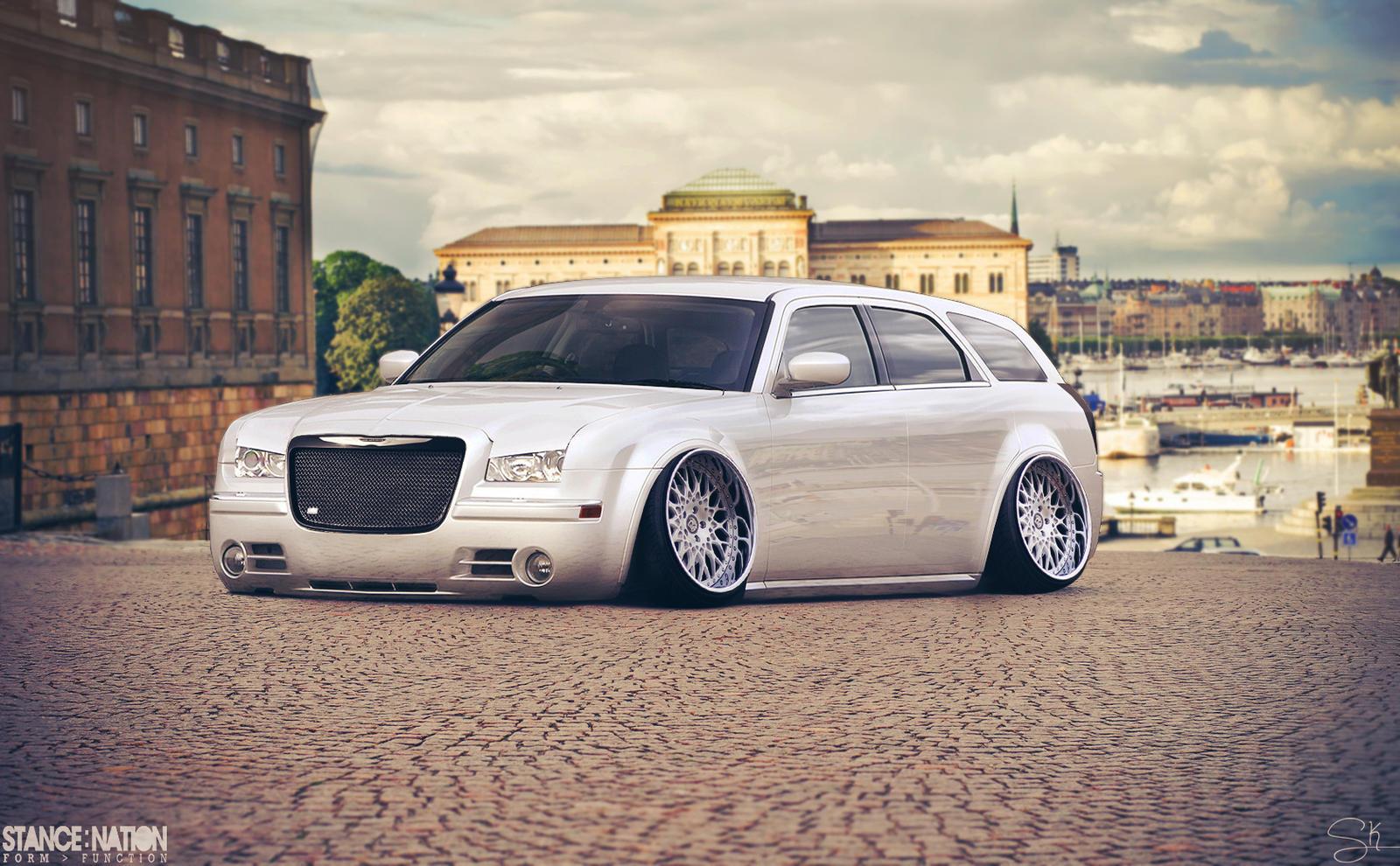 Chrysler 300c Tuning >> Stanced Chrysler 300C Wagon by Sk1zzo on DeviantArt