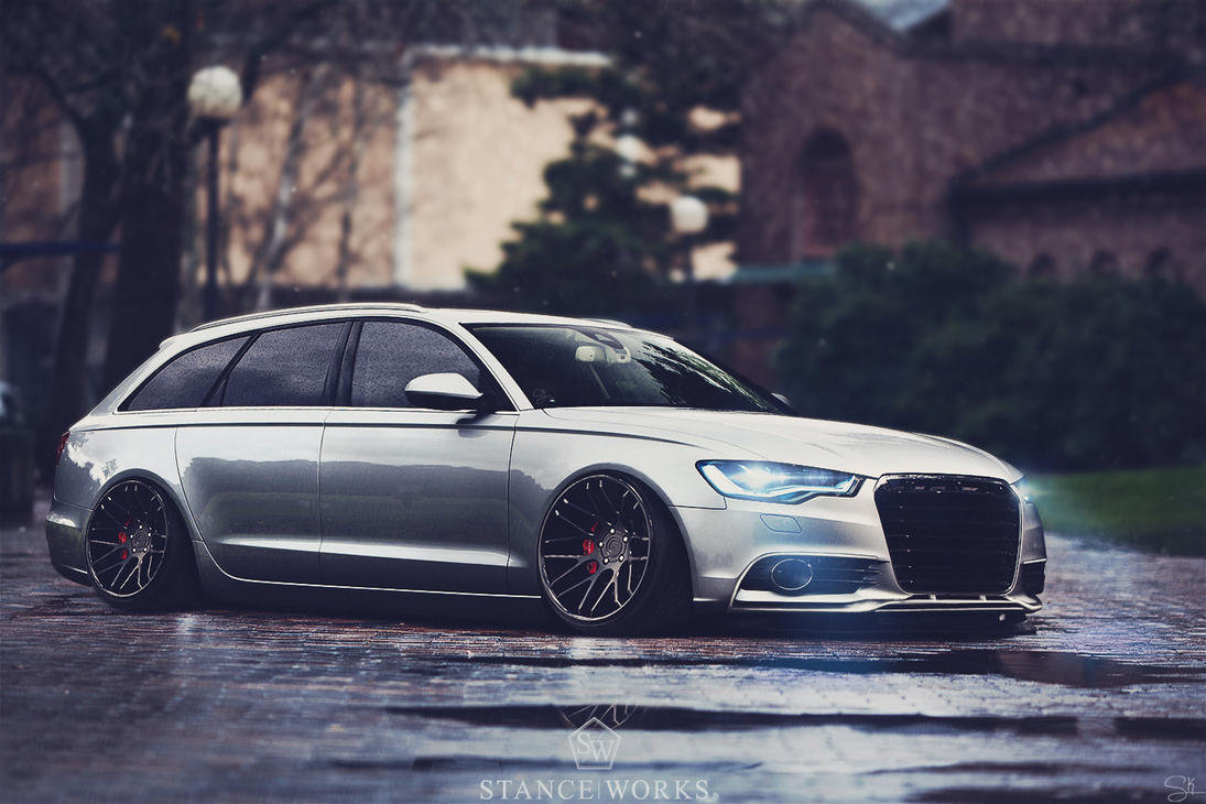 STANCE AUDI RS6 Avant by Sk1zzo