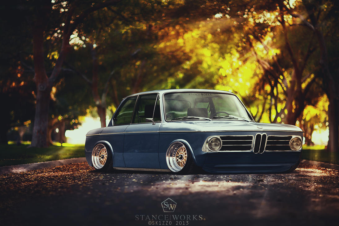 Stanced BMW 2002 Turbo by Sk1zzo