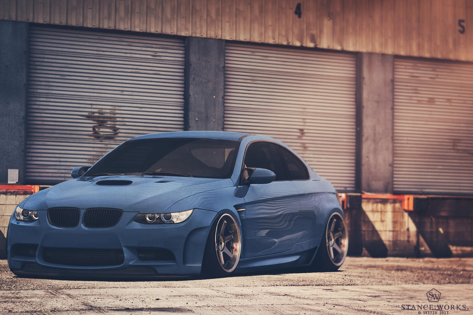 Stanced Bmw M3 92 Wide Boy By Sk1zzo On Deviantart