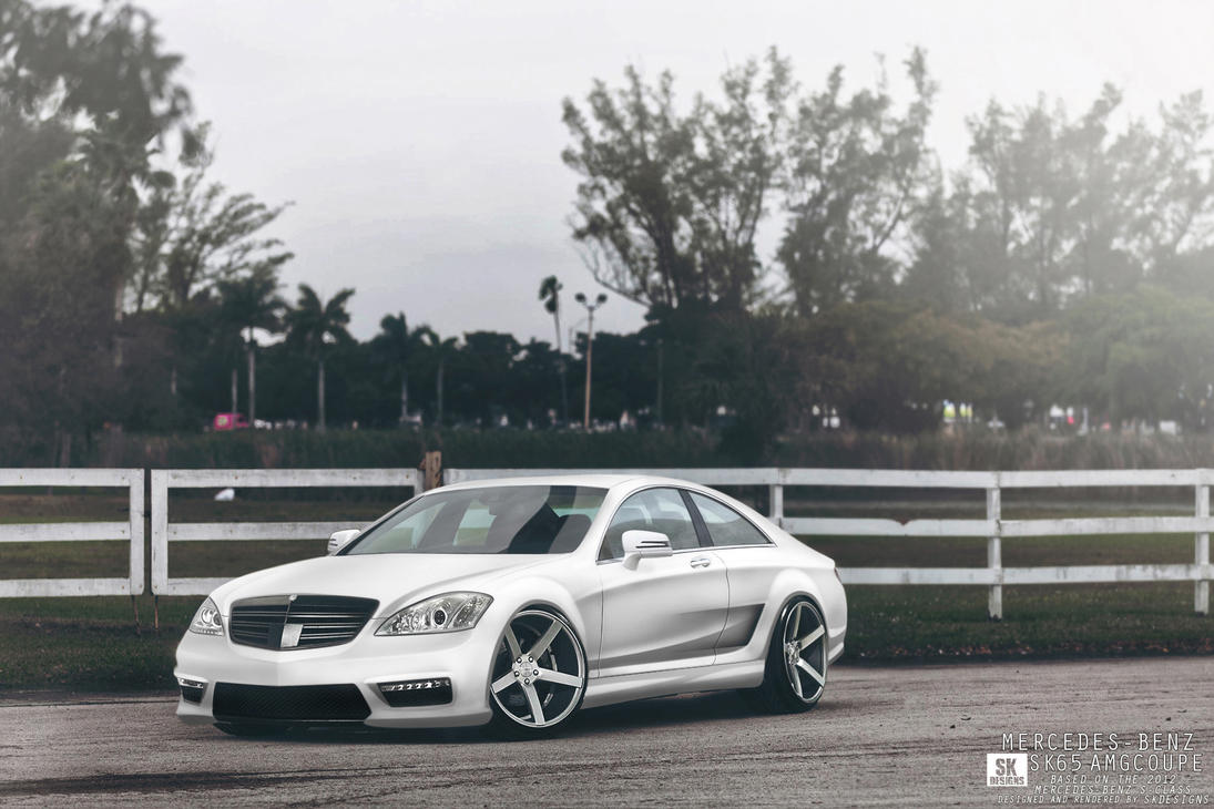 Mercedes Benz S-Class Coupe by Sk1zzo
