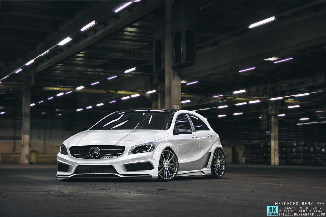 2013 mercedes benz a class by sk1zzo on deviantart for Mercedes benz financial login