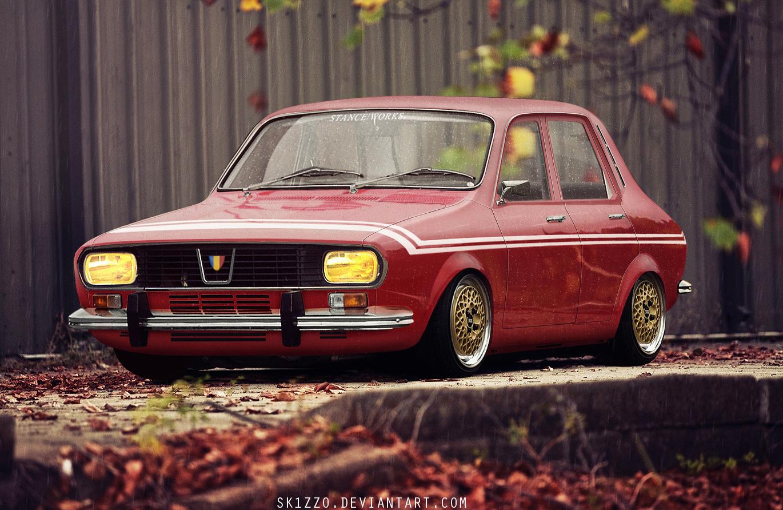 Dacia 1300 Gordini by Sk1zzo on DeviantArt