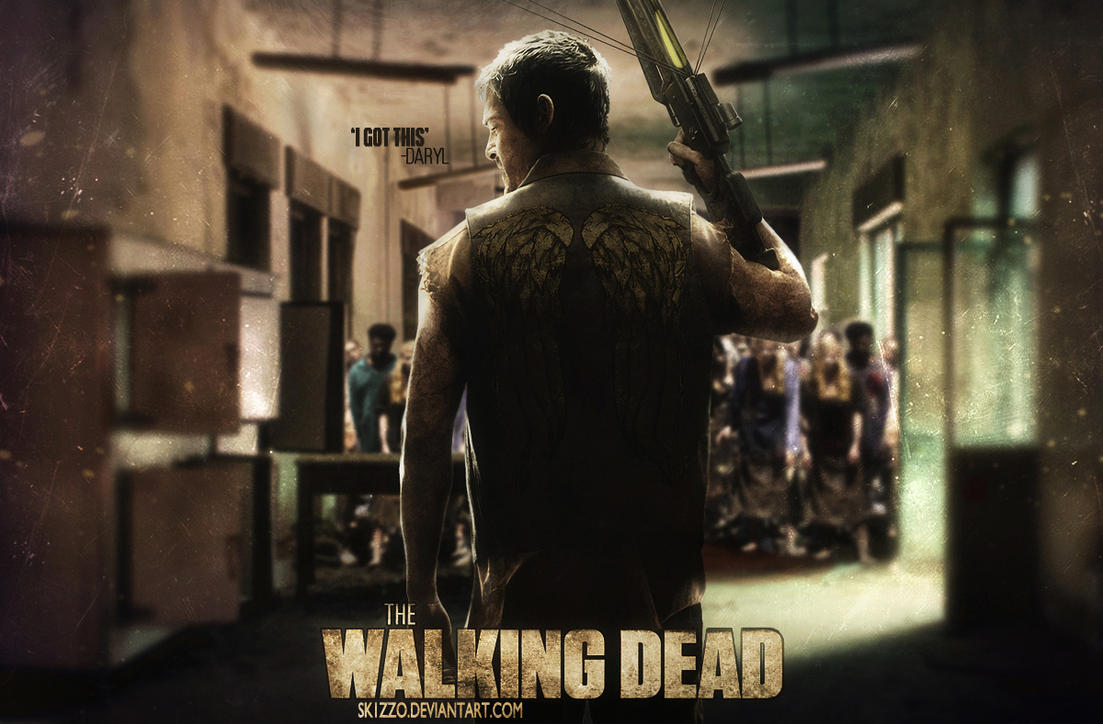 The Walking Dead: Daryl Dixon by Sk1zzo