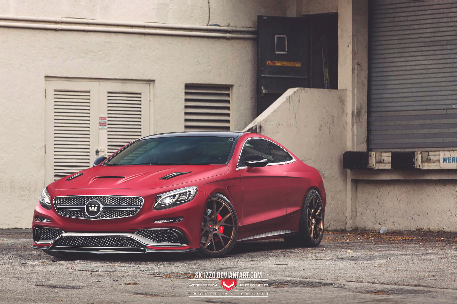mercedes benz s65 amg coupe by sk1zzo on deviantart. Black Bedroom Furniture Sets. Home Design Ideas