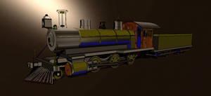 2-6-0 steam locomotove - 4