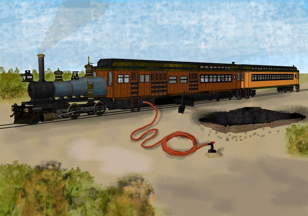 Steam Railcar 4 by dinodanthetrainman