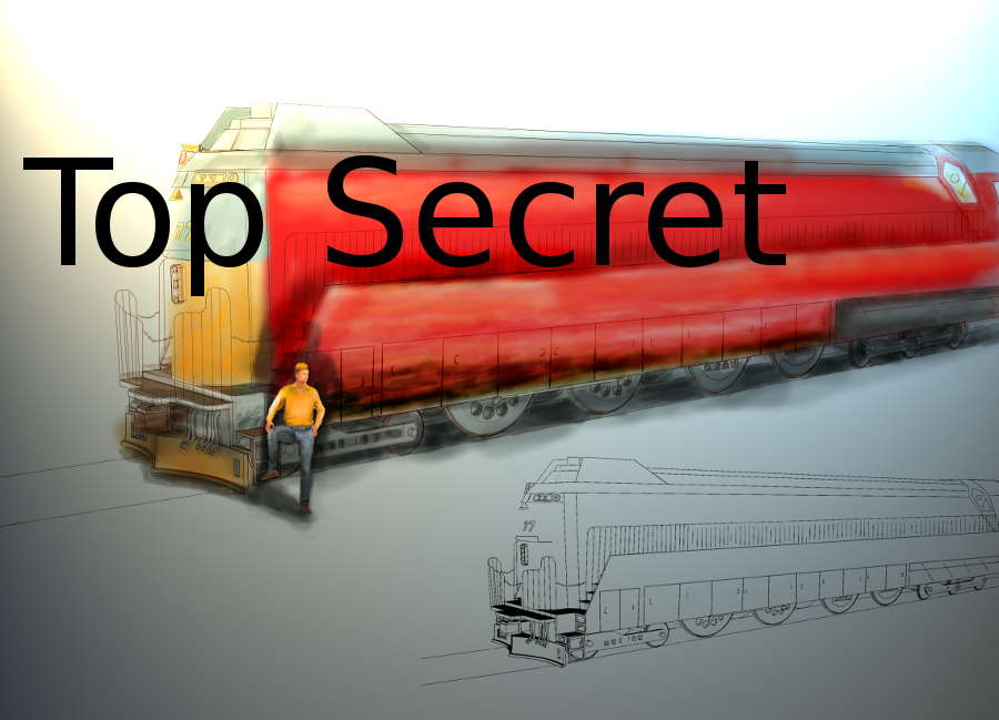 Top Secret Trains by dinodanthetrainman