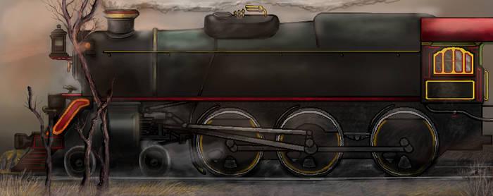 4-6-0 steam locomotive