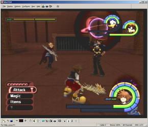 Kingdom Hearts Screen Shot 1 by R-a-j