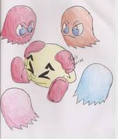Pacman Gameover by Shiekralucario00