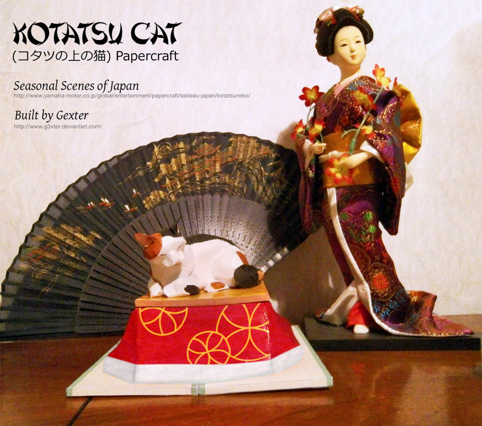 Seasonal scenes of japan kotatsu cat papercraft by g3xter on seasonal scenes of japan kotatsu cat papercraft by g3xter jeuxipadfo Choice Image