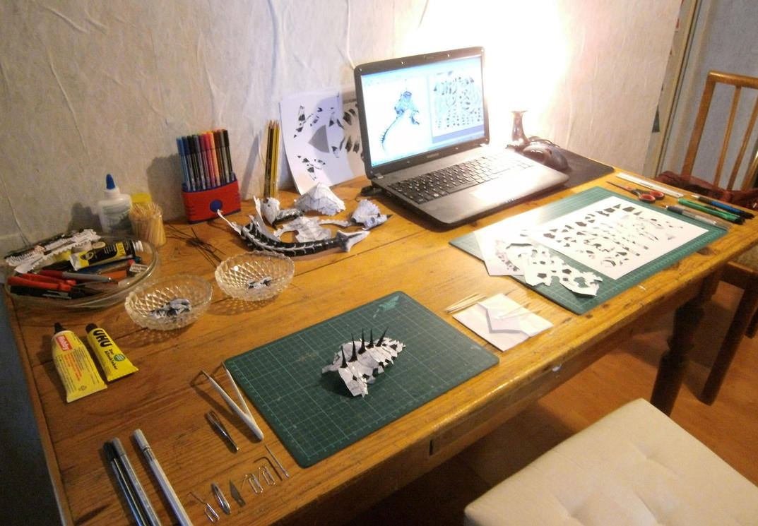 Upgraded Craftingstation by g3xter