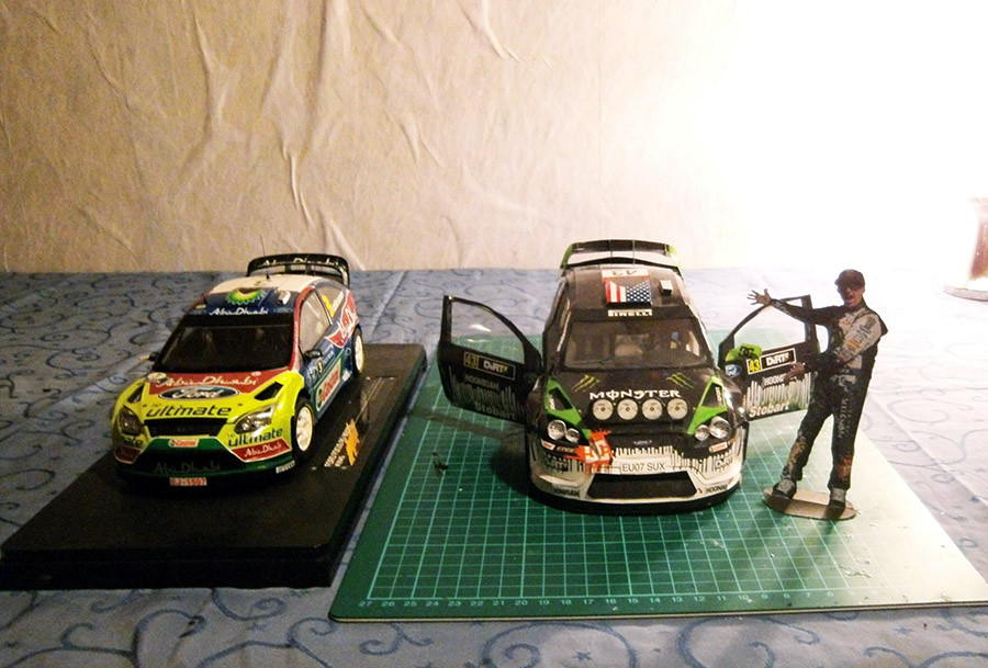 Ford Focus RS WRC 08 'Ken Block' Papercraft WIP by g3xter on ...