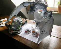 Frost Dragon, Ford Focus and Wall-E WIP