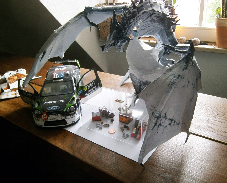 Frost Dragon, Ford Focus and Wall-E WIP by g3xter on ...