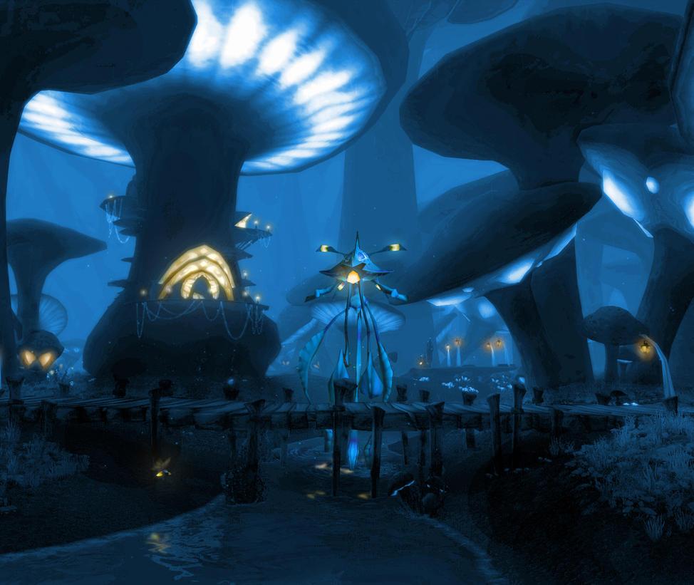 World of Warcraft Mushroom Mousepad design V1 by g3xter