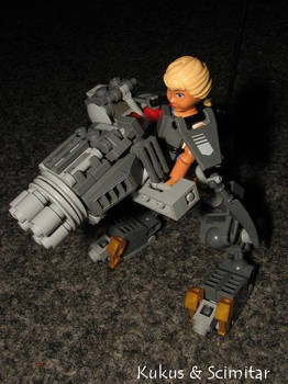 Belville Battle Cyborg
