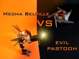 Mecha Belville vs Evil Pastooh