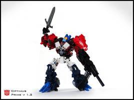 [MOC] Optimus Prime v 1.2 Robot Mode