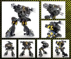 Raptor Mk.I. - mecha (44022 alternative model) by QuQuS