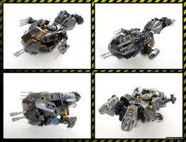 Raptor Mk.I. - Spaceship (44022 alternative model) by QuQuS