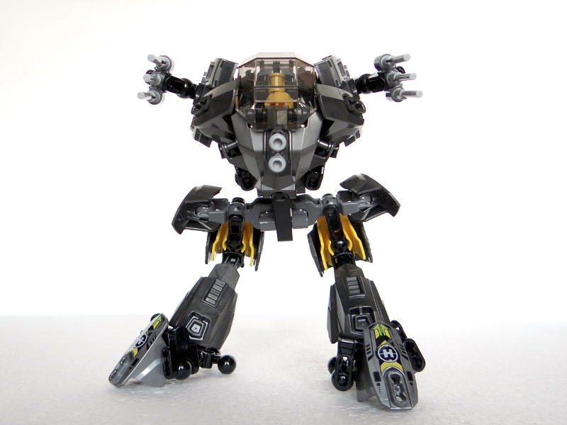 Raptor Mk.I. - mecha (44022 alternative model) by QuQuS