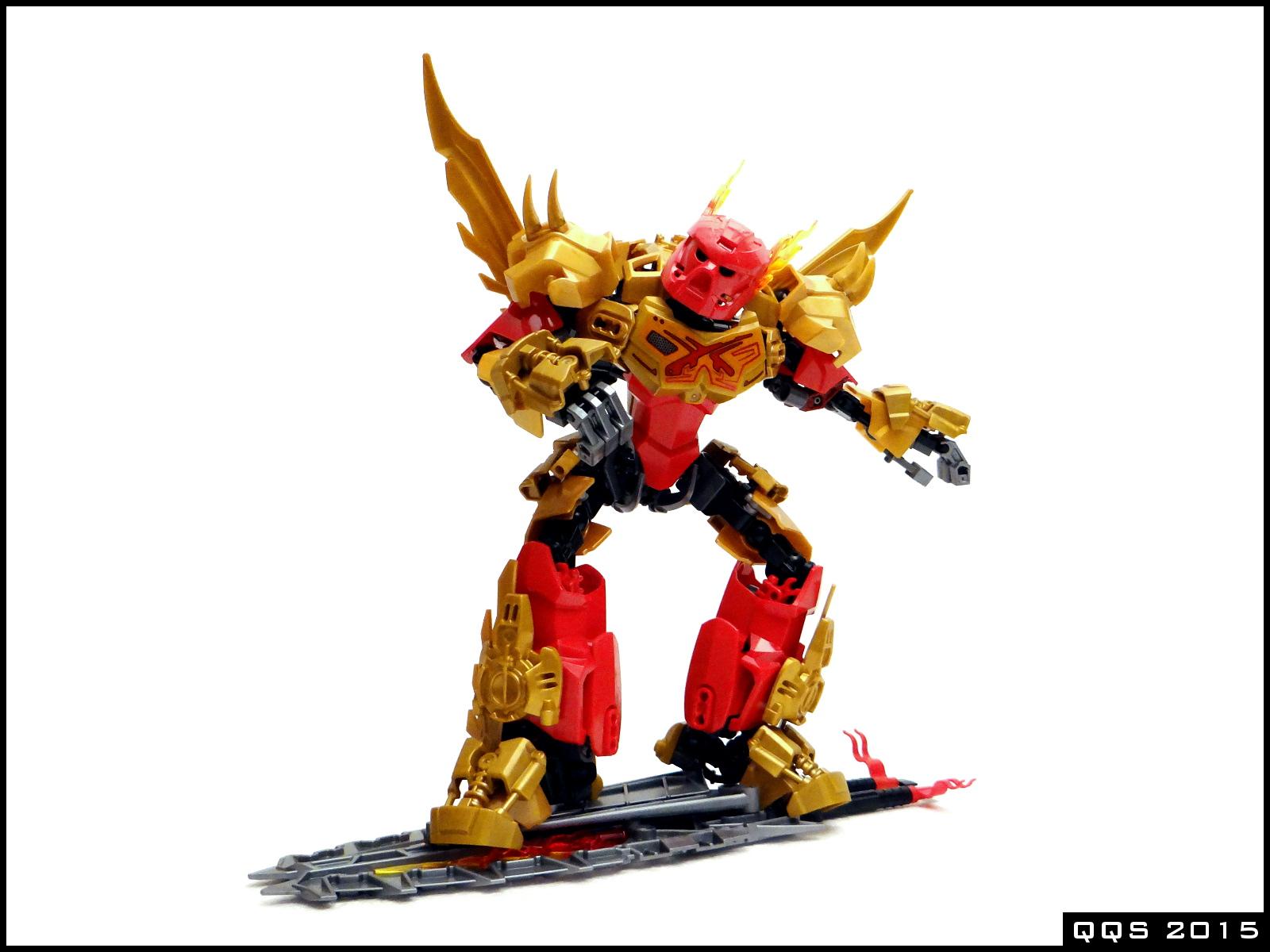 lego bionicle tahu master of fire instructions