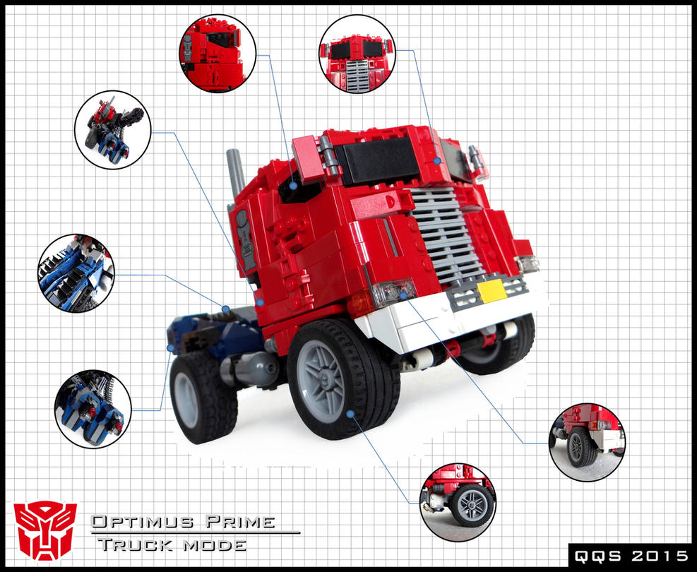 Optimus Prime/Convoy - truck mode - extra details by QuQuS