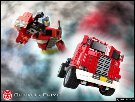 Optimus Prime/Convoy - main graphic