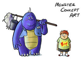 Monster Concept Art