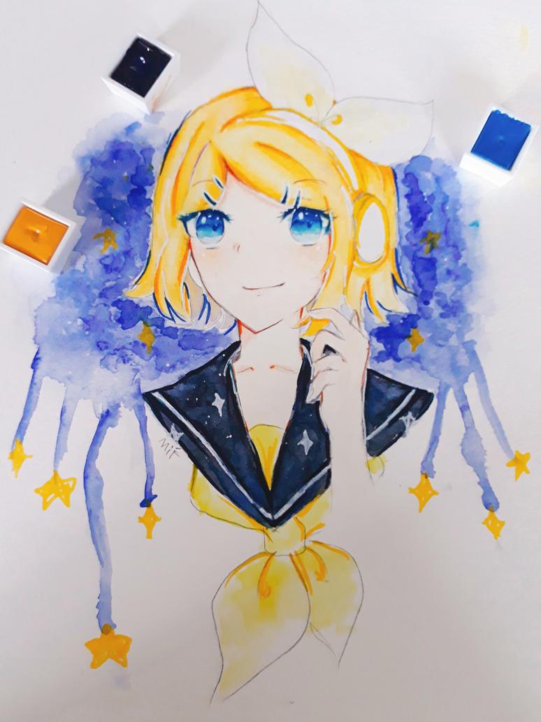 FanArt Rin Kagamine by LenMikas