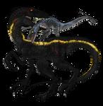 Indoraptor vs Blue