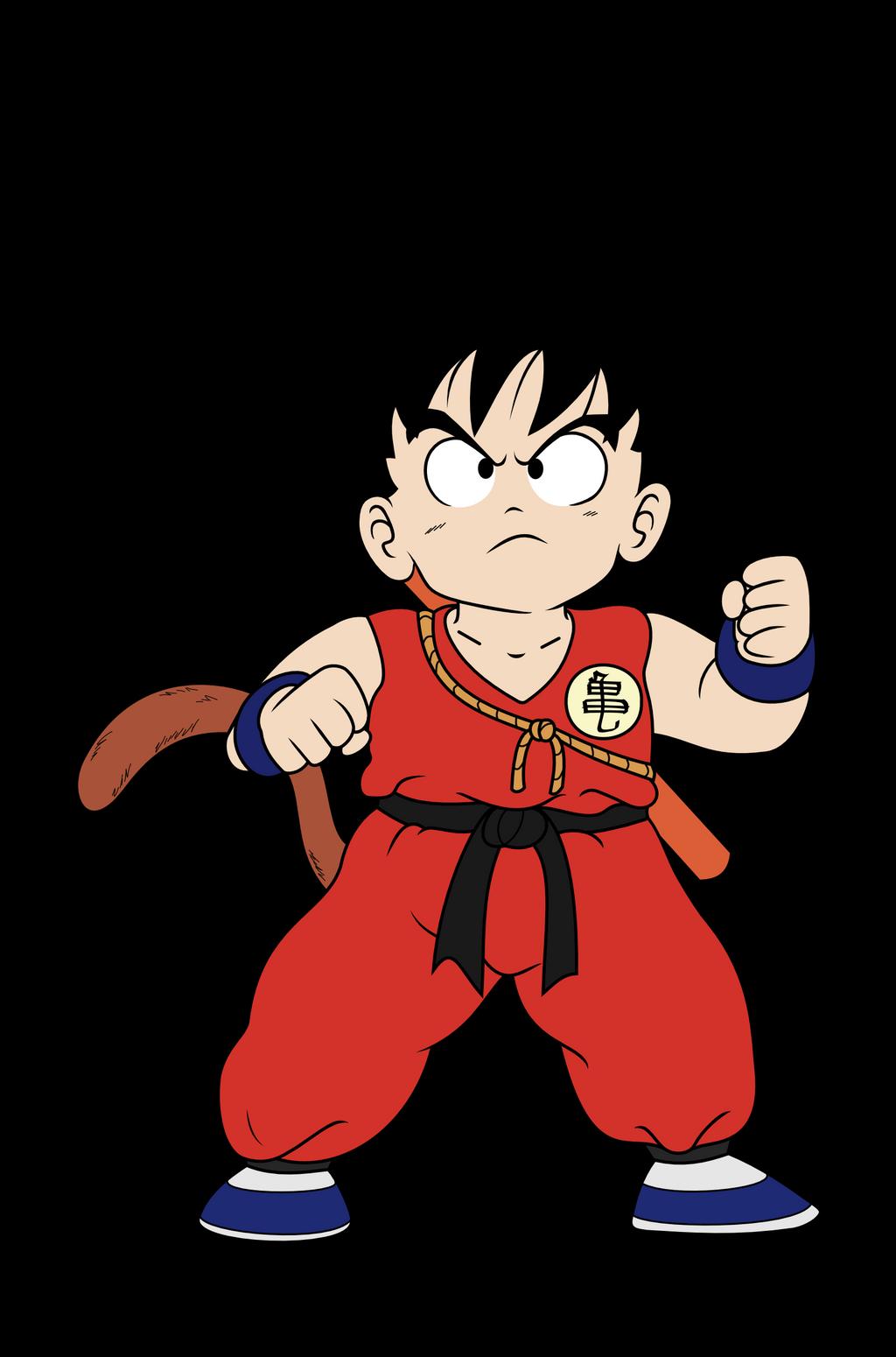 Goku vector by Tikonka on DeviantArt