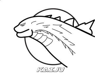 Kaiju logo by monofluore