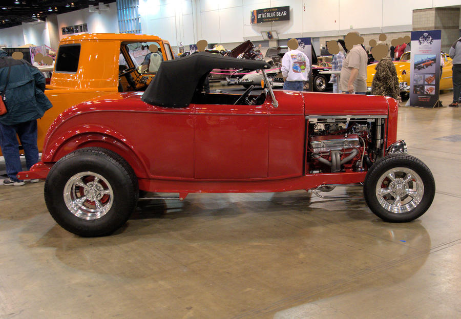 1932 Ford Roadster A by Razgar