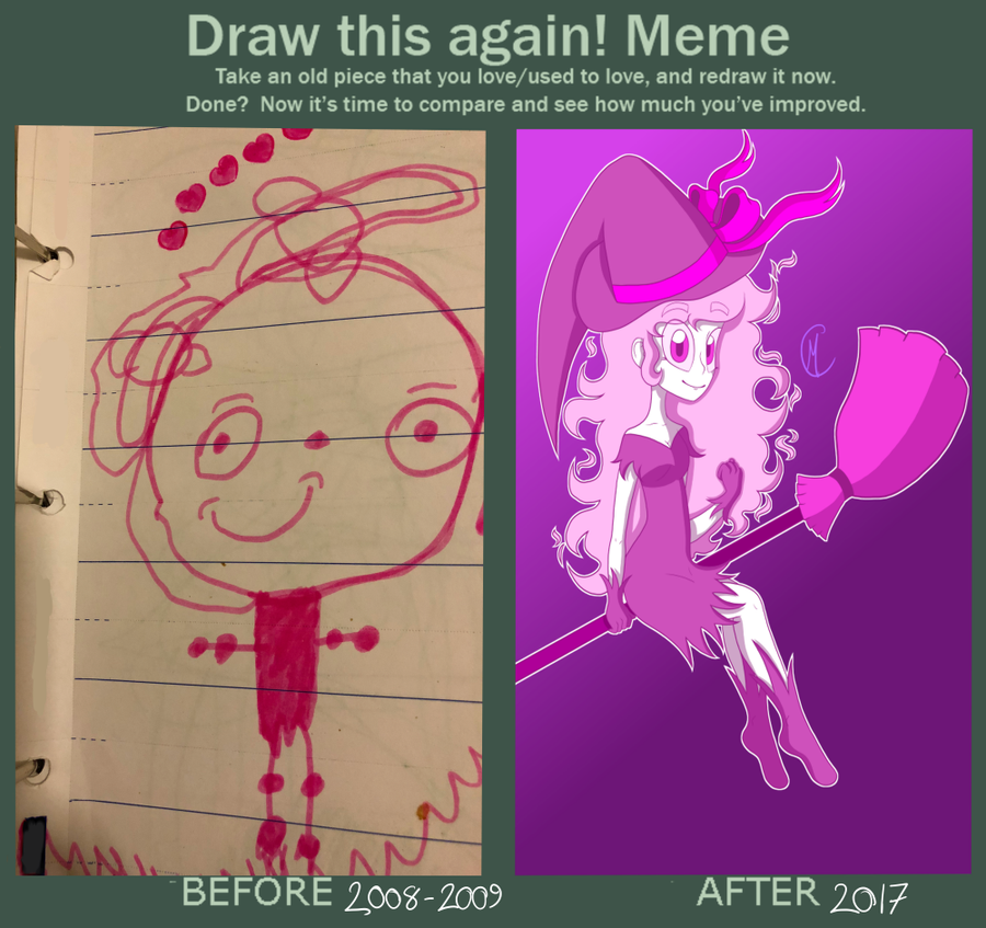 Draw it Again Challenge by Maniac-Curly