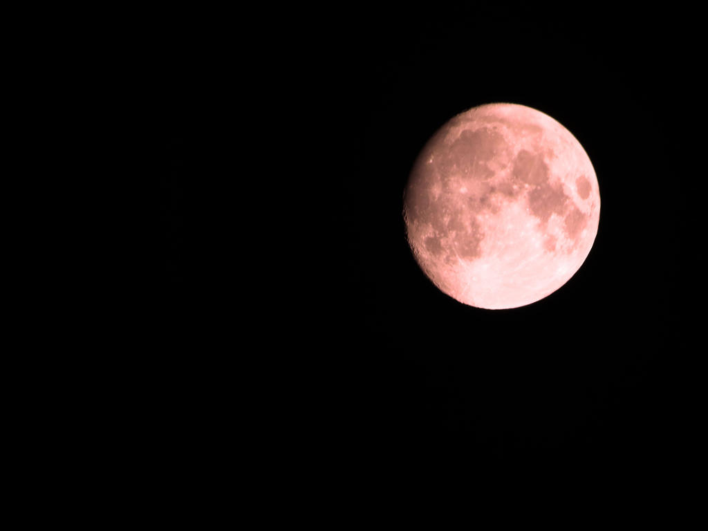 Blood moon (red filter) by MissNoseybonk