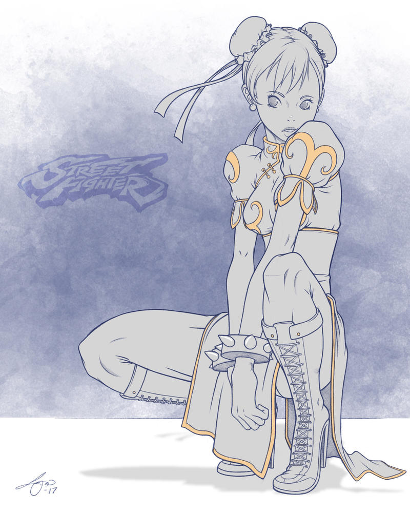 Day 30: Chun Li by LoganChildress