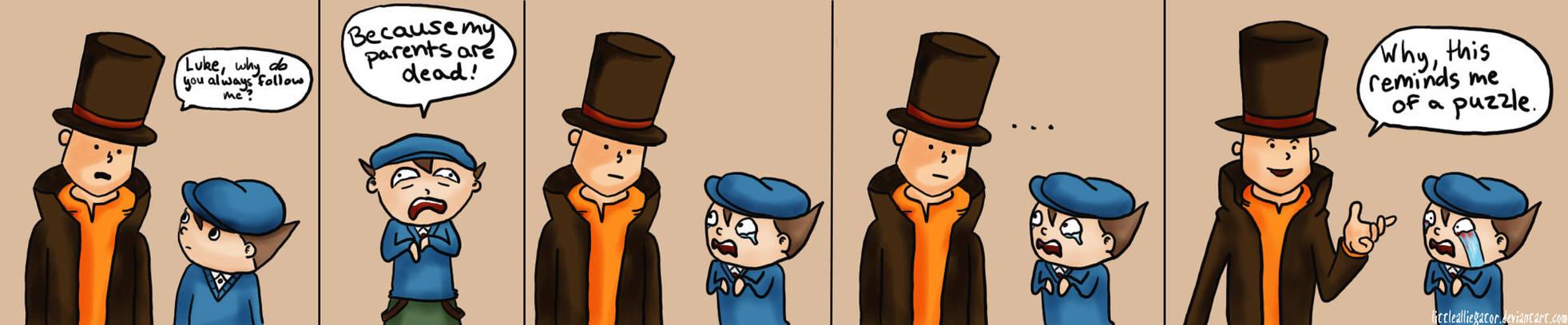 Professor Layton Comic