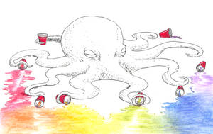 Drunk Rainbow Octopus