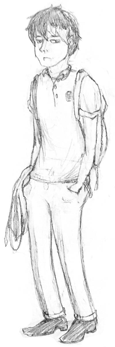 Sketch Cool Kid Alan