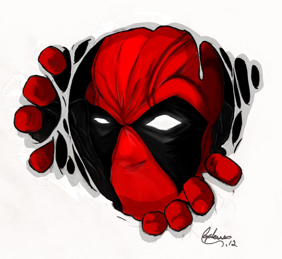 Deadpool Tattoo Outline: 1000+ Images About Tattoos On Pinterest