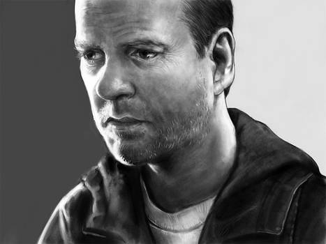Jack Bauer Grayscale