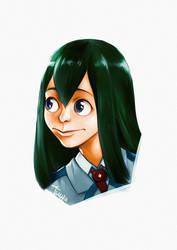 Tsuyu Asui (Fan Art)