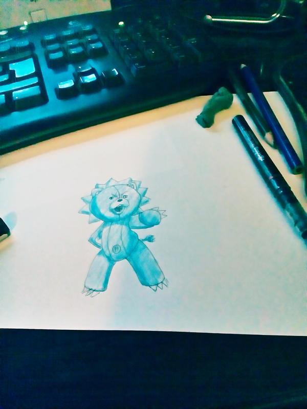Drawing KON (Bleach) by MatijaDesign