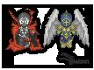 Spawn and Redeemer Pixel by Slaizen
