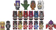 Power Rangers In Space Pixel by Slaizen