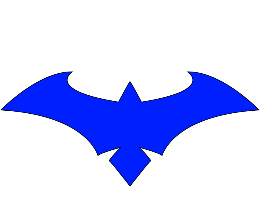 new 52 Nightwing Blue Clear by CrossedRunner on DeviantArt